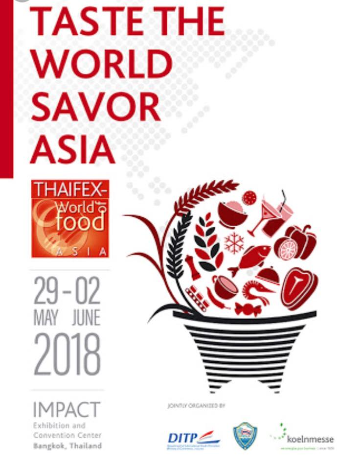 Thaifex – World of Food Asia 2018